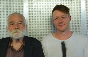 Peter Brötzmann (reeds), Oliver Steidle (dr), Einstein, München, Foto Ralf Dombrowski